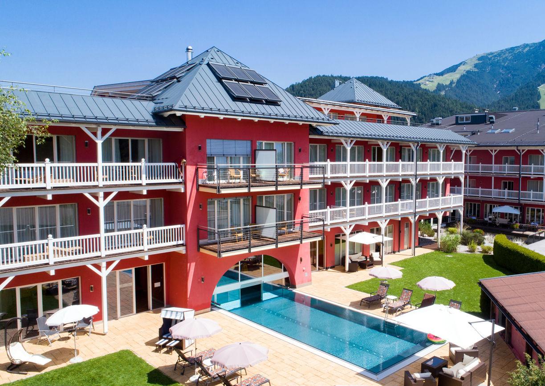 Hotel Eden Seefeld Tirol Aussenansicht