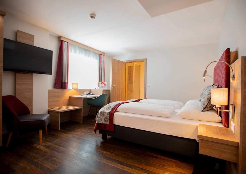 Hotel Elefant Family Business Salzburg Altstadt Getreidegasse Innenansicht Zimmer