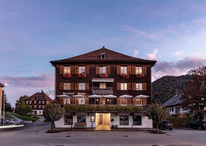 Hotel Gasthof Krone Hittisau Vorarlberg Bregenzerwald