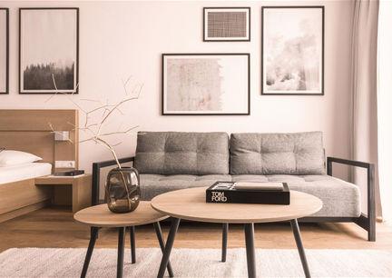 Hotel Gebhard Fiss Tirol Design Lifestyle Innenansicht Zimmer