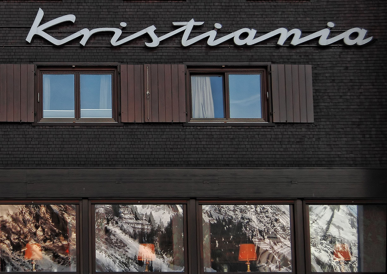 Hotel Kristiania Lech Außenansicht