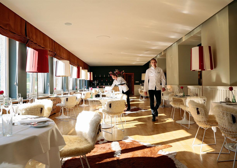 Hotel Miramonte Interior Design Architektur Speisesaal