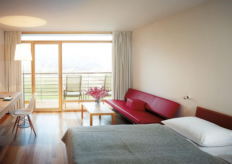 Hotel Post Bezau Innenansicht Zimmer