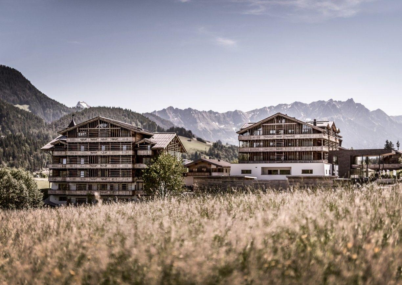 Hotel Puradies Leogang Salzburger Land Aussenansicht Winter