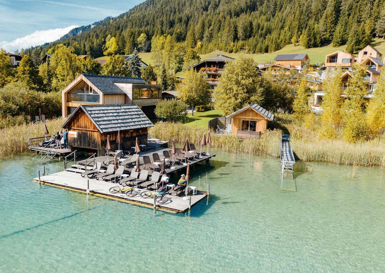 Hotel Regitnig Weissensee Kärnten Chalets