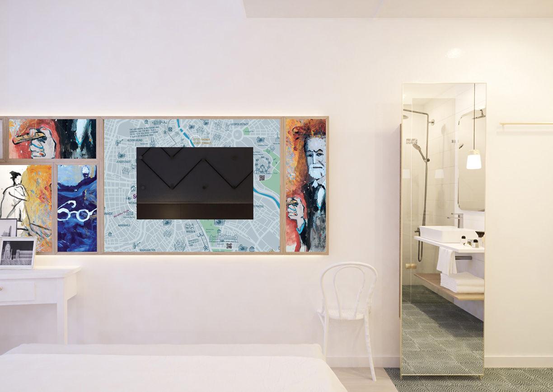 Hotel Schani Salon Wien Zimmer
