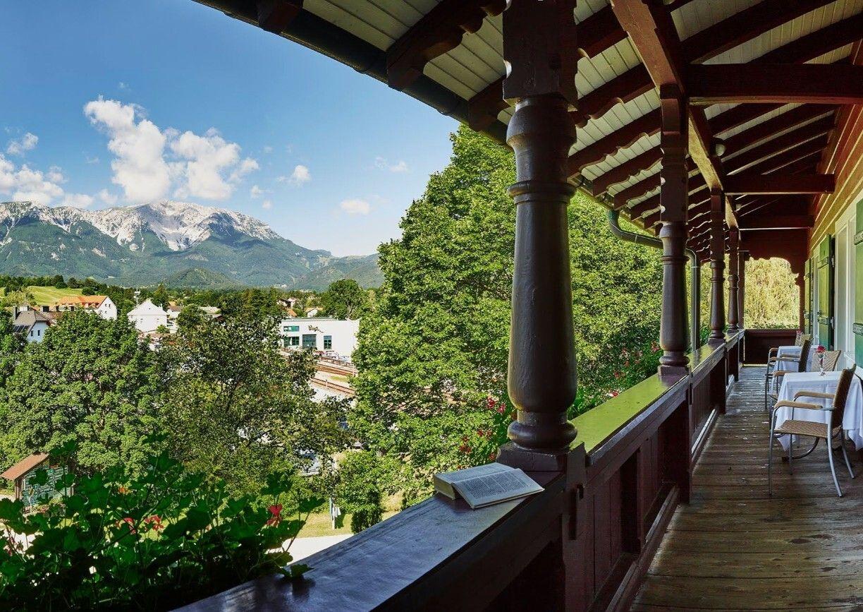 Hotel Schneeberghof Puchberg Schneeberg Wiener Alpen Aussicht Natur Berge