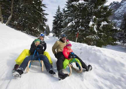 Hotel Seehof Kössen Winter Urlaub Familie