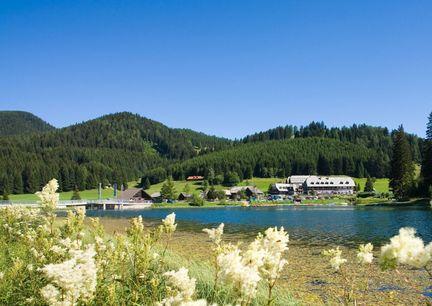 Hotel Teichwirt Teichalm Steiermark Aussenansicht Natur Teichalmsee