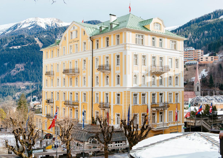 Hotel Weismayr Bad Gastein Selina Winter Aussenansicht
