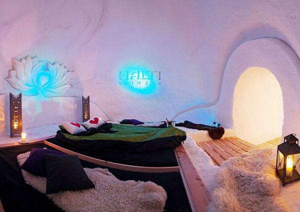 Iglu-Suite Kristallhütte Eskimo Nights