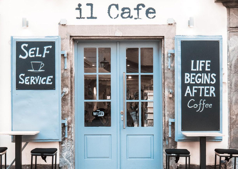 Il Cafe Graz Aussenansicht