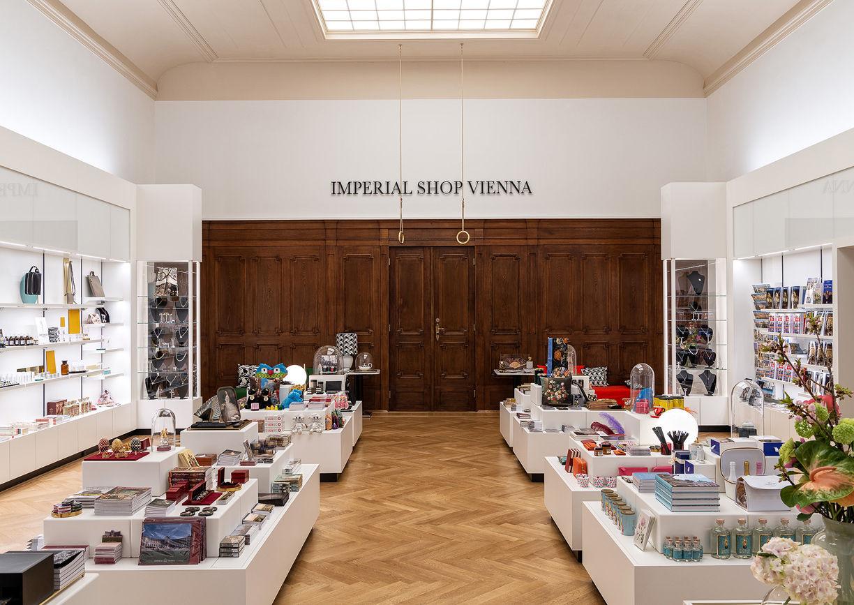 Imperial Shop Vienna Hofburg Innenansicht