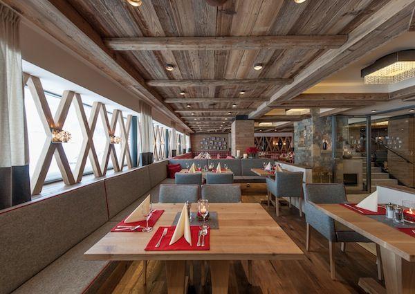 Innenansicht, Restaurant Steinbock