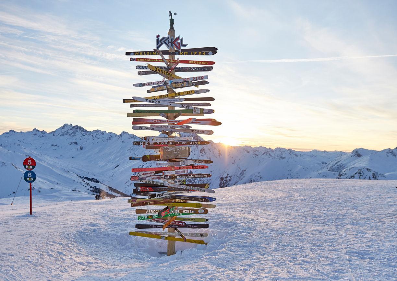 Ischgl Winter Skipiste