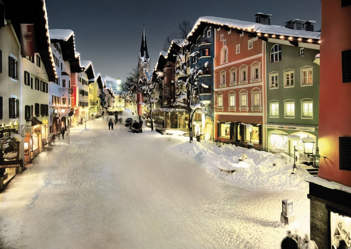 Kitzbühel Winter Tirol