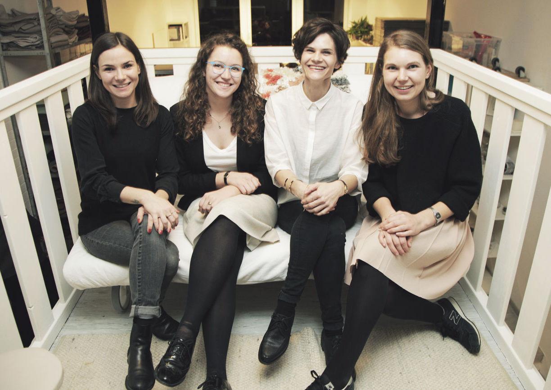 Klara Schuster, Sarah Josefa Rieger, Sigrid Stöckl, Paula van der Woude