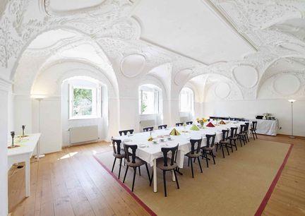 Kloster Pernegg Speisesaal