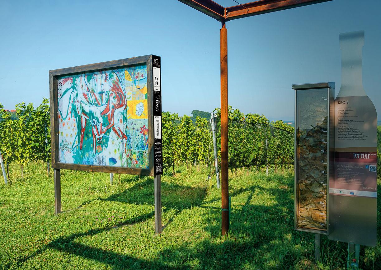Kunst an der Weinstraße Südsteirische Weinstraße