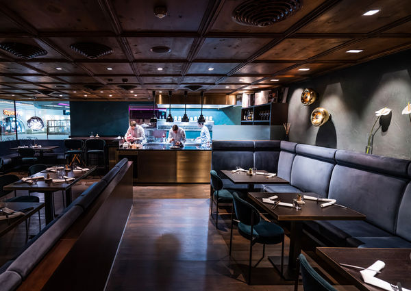 Le Treize Restaurant Seefeld Innenansicht