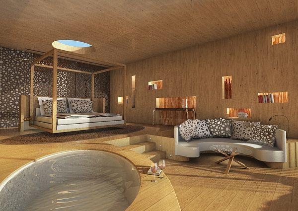 Lifestyle-Suite im Mohr Life Resort in Lermoos
