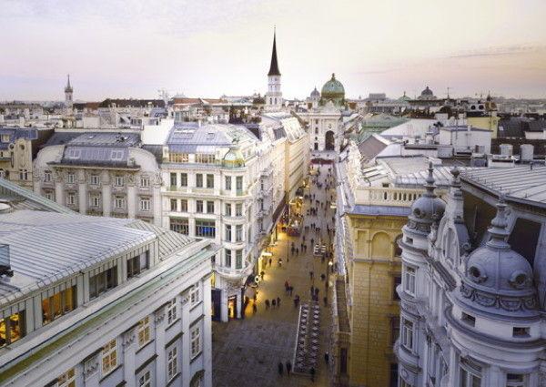 Louis Vuitton Store, Tuchlauben Wien