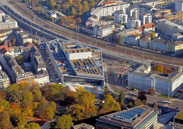 Luftaufnahme Musiktheater Linz