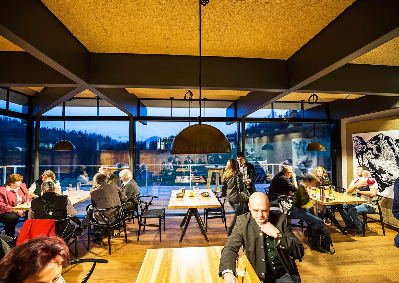 Lurgbauer St. Sebastian Mariazell Restaurant angus Rind