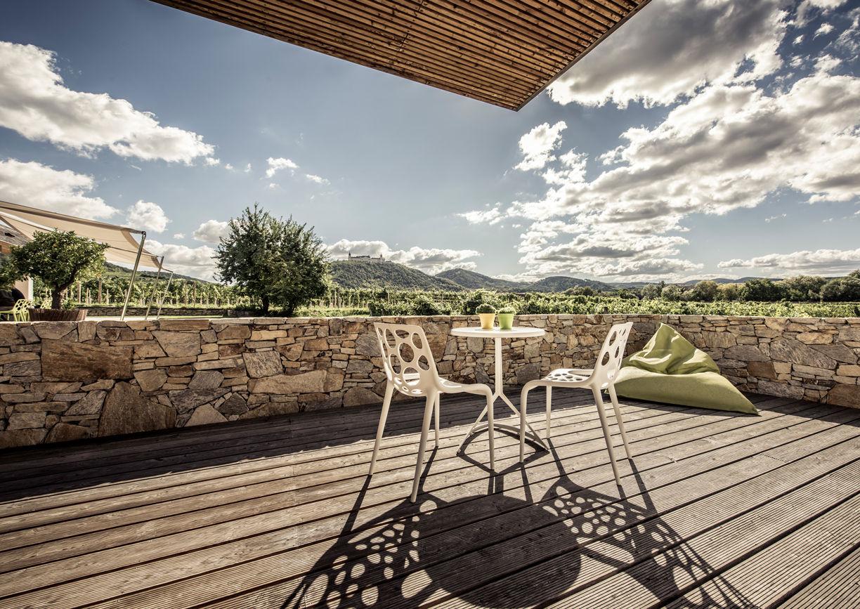 Malat Weingut Hotel Wachau Kremstal Terrasse