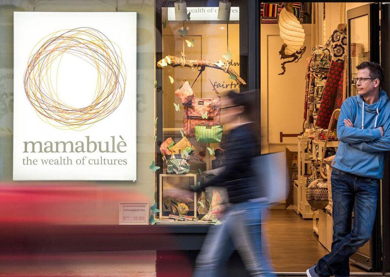 Mamabule Shop in Wien Neubau mit Demo