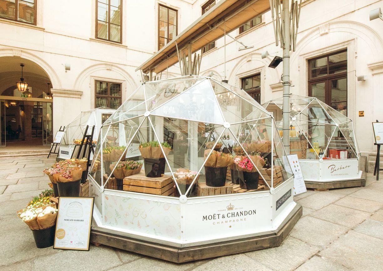 Moet&Chandon Mercato Barbaro in Wien