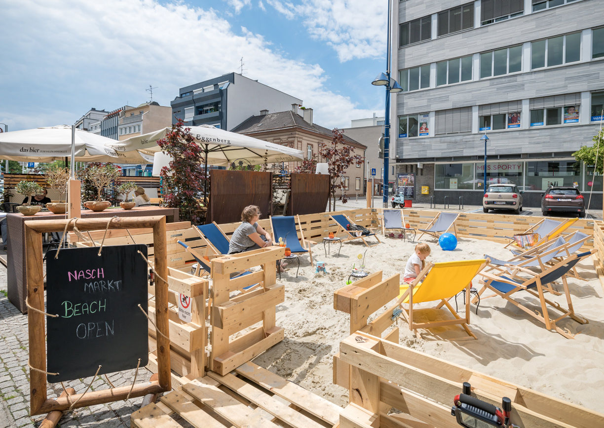 Naschmarkt Wels City Beach