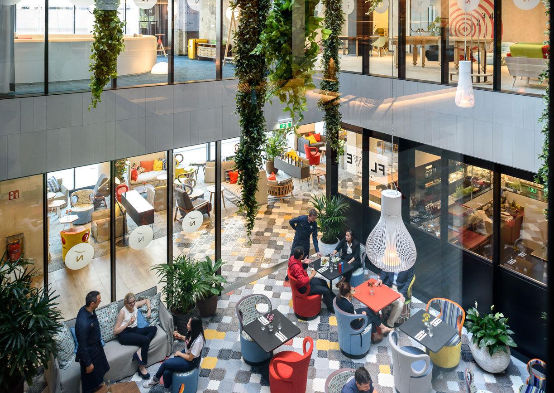 Novotel Wien Restaurant Innenansicht Quartier Belvedere