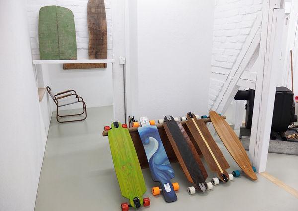 Oberösterreich Wels Skateboards Manufaktur Handwerk