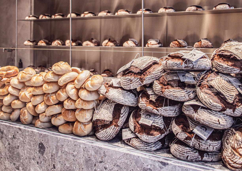 Öfferl Wollzeile Wien Shop Bäckerei Bistro Brot Gebäck Innenansicht