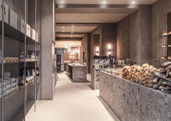 Öfferl Wollzeile Wien Shop Bäckerei Bistro Innenansicht