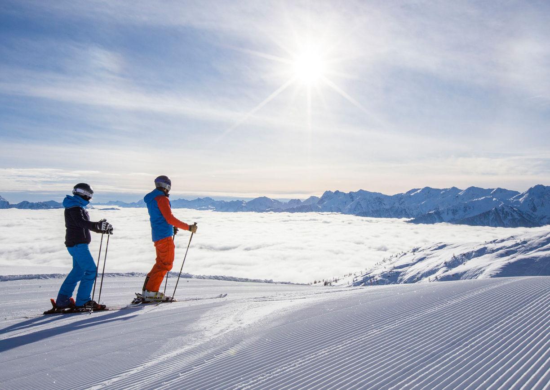 Osttirol Winter Urlaub Skigebiet Sillian Hochpustertal