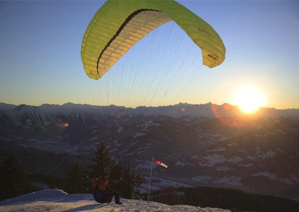 Paragliding Bischling Werfenweng c Tourismusverband Werfenweng