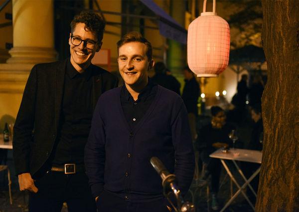 Peter Schernhuber und Sebastian Höglinger