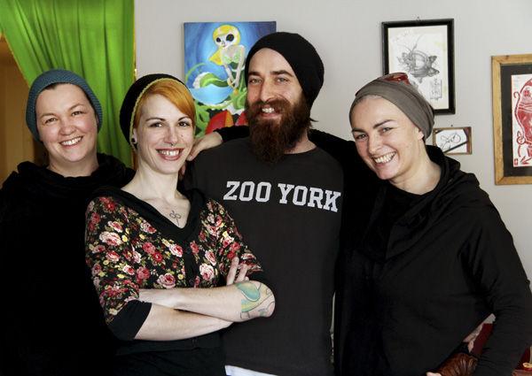 Petra Geiger-Kletzl, Verena Roth, Simon Roth und Ruth Gold