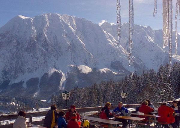 Pfannerhütte, Ausblick, Grimming