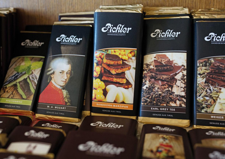 Pichlers Schokoladenwelt Sillian Osttirol Schokolade