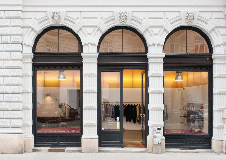 Pregenzer Conceptstore Shop Wien Aussenansicht