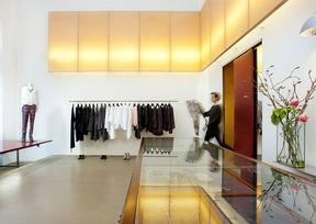 Pregenzer Conceptstore Shop Wien Innenansicht