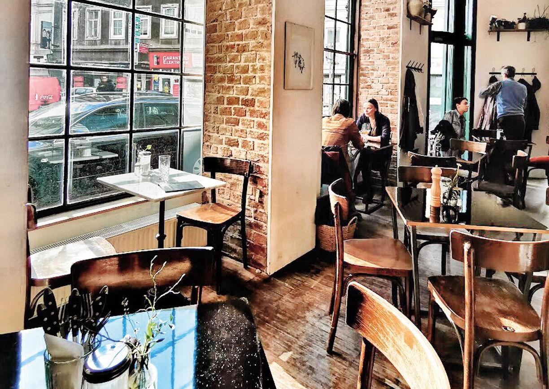 Propeller Wien Cafe Innenansicht