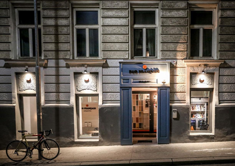 Pub Francais Wien Aussenansicht