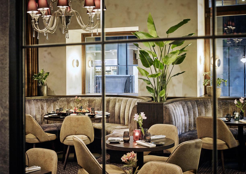 Restaurant Bela Bela Steigenberger Hotel Herrenhof Wien Innenansicht