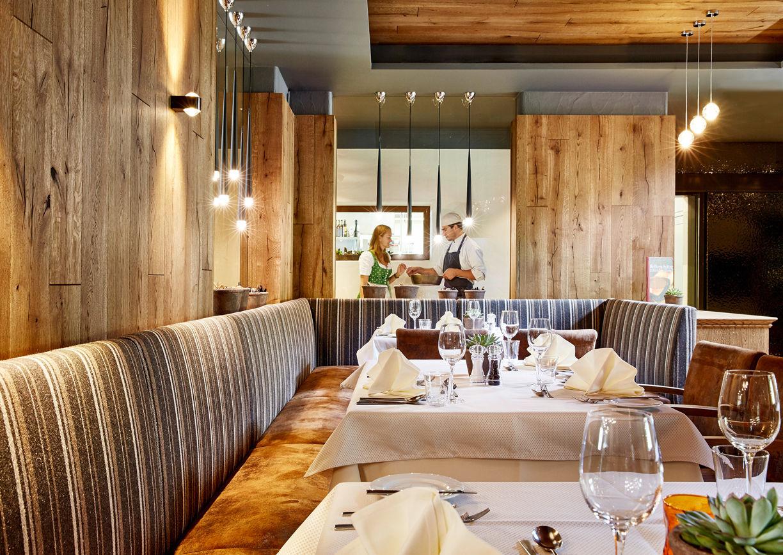Restaurant Hotel Riederalm Leogang Innenansicht