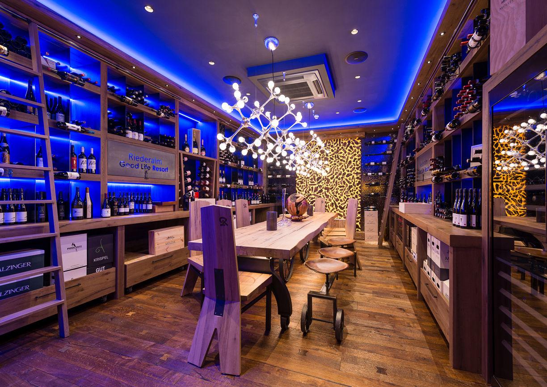 Restaurant Hotel Riederalm Leogang Weinkeller