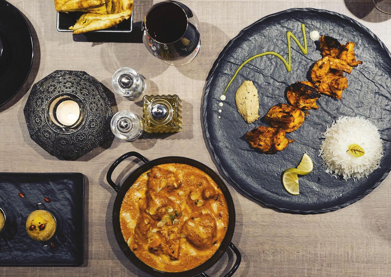 Restaurant In-Dish Wien Lokal Inder indisch Essen